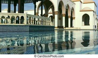 Summer egyptian buildings HD video