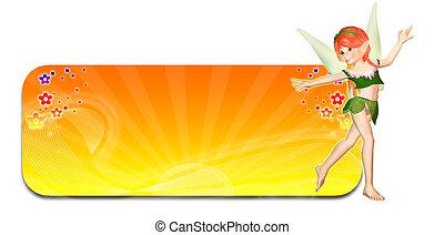 Summer Fairy Header/Banner