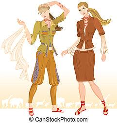 Summer fashion models 2