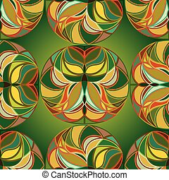 Summer Floral abstraction.