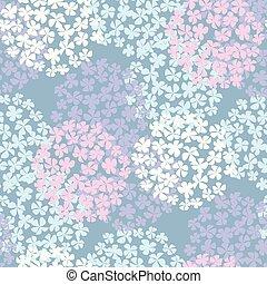 summer floral bouquet seamless pattern.