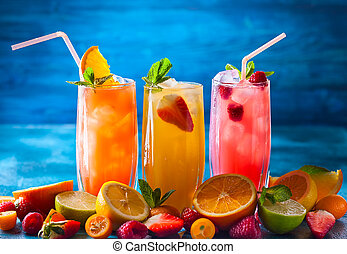 Summer fruit drinks - Different types of summer drinks in ...