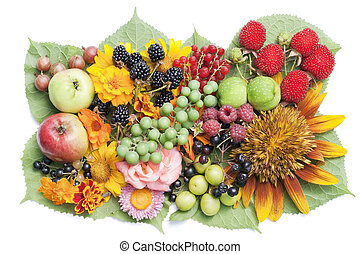 Summer fruits mix