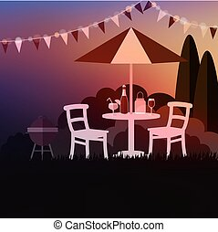Garden party Clipart and Stock Illustrations. 10,267 ...