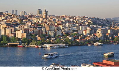 Summer general view at Instanbul, Turkey - Summer view at...
