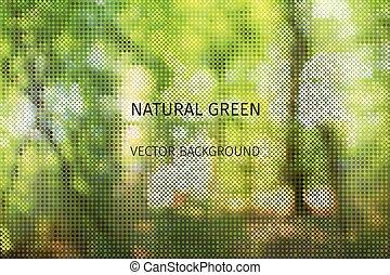 summer green background