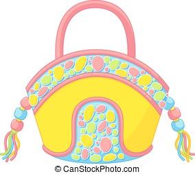 Summer handbag - Ladies accessories, summer and beach bag,...