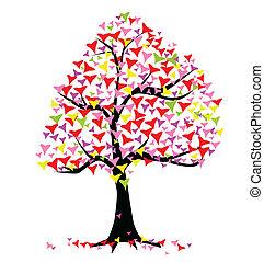 Summer Hearts Tree
