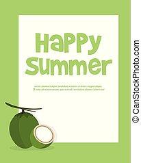 Summer holiday and summer camp