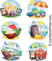 Summer Holiday Compositions Set