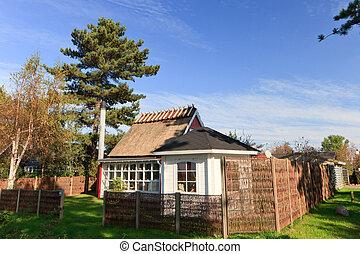 Summer house - traditional summer house in Denmark...