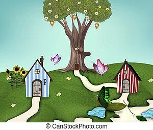 summer houses - Little summer village