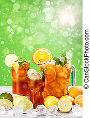 Summer iced tea
