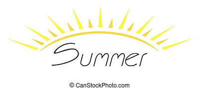 Summer icon - This is easy summer icon