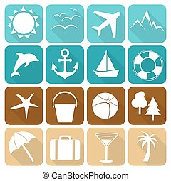 Summer icons 3