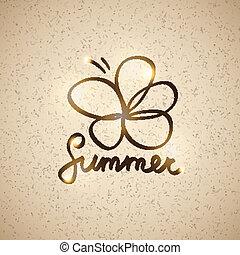 summer illustration, vector eps 10 - summer illustration...