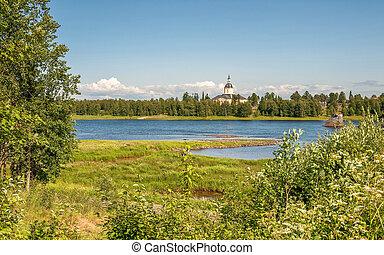 Summer in northern Sweden