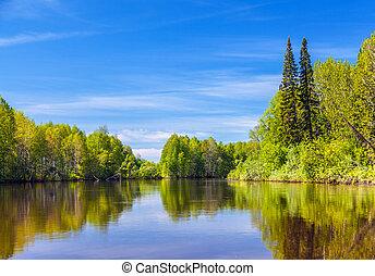 Summer in Siberia.