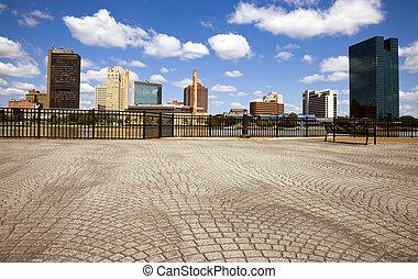 Summer in Toledo, Ohio, USA