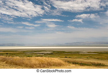Summer Lake - Photograph of Abert Lake in South-Central...