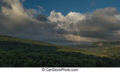 Summer Landscape Clouds