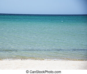 Summer landscape on the Black Sea, Crimea