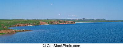 quiet water of lake