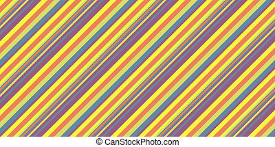 Summer Lights Seamless Inclined Stripes Background. Modern Colors Sidelong Lines Texture. Vintage Style Stripe Backdrop.