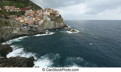 Summer Manarola, Cinque Terre - Beautiful summer Manarola -...