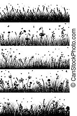 meadow background - Summer meadow background. EPS 10 vector...