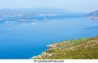 Summer morning coastline (Croatia)
