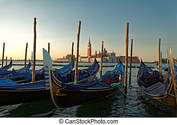 Summer morning in Venice 1