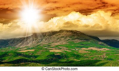 Mountain - Summer. Mountain landscape.