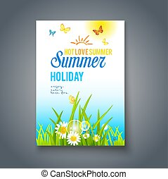 Summer nice day card
