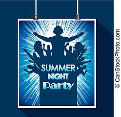 Summer night party