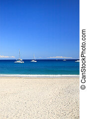 summer on the beach in Greece