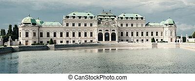 Summer palace Belvedere in Vienna. Austria