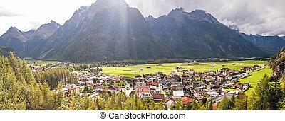 Oetztal (Oetz valley) in Tirol Austria