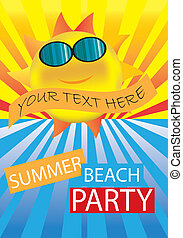 summer party Banner