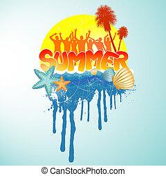 Summer Party Design