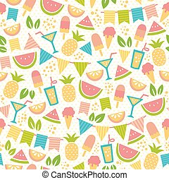 Summer party pattern