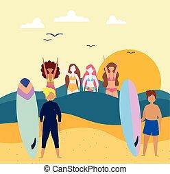 summer people activity