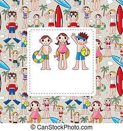 summer people card