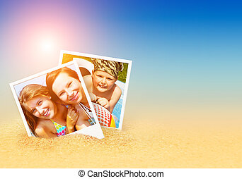 summer photos on the beach