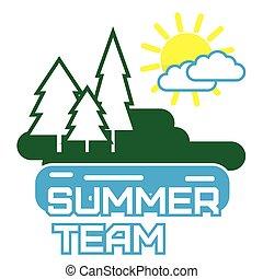 Summer Picnic Outdoor Illustration