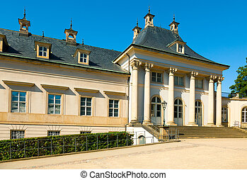 Summer residence of the Saxon royal family. Pillnitz, Dresden