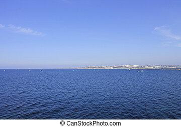 Summer resort, rest on the sea, Crimea