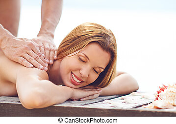 Summer resort spa