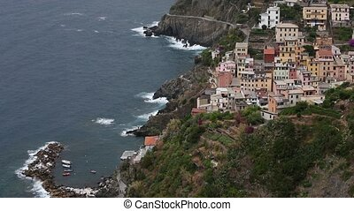 Summer Riomaggiore, Cinque Terre, Italy - Beautiful summer...