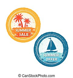 summer sale and offer, palms boat